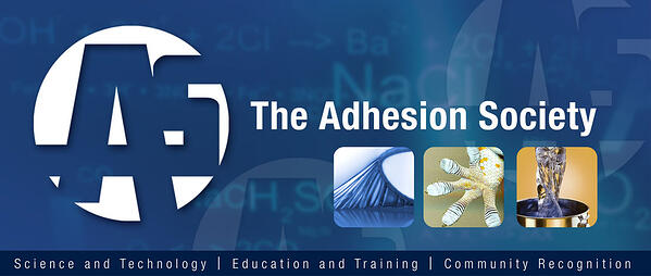 The Adhesion Society's mission is to promote the advancement of the science and technology of adhesion.