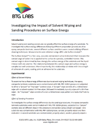 Investigating-the-Impact-of-Solvent-Wiping-and-Sanding-Procedures-on-Surface-Energy