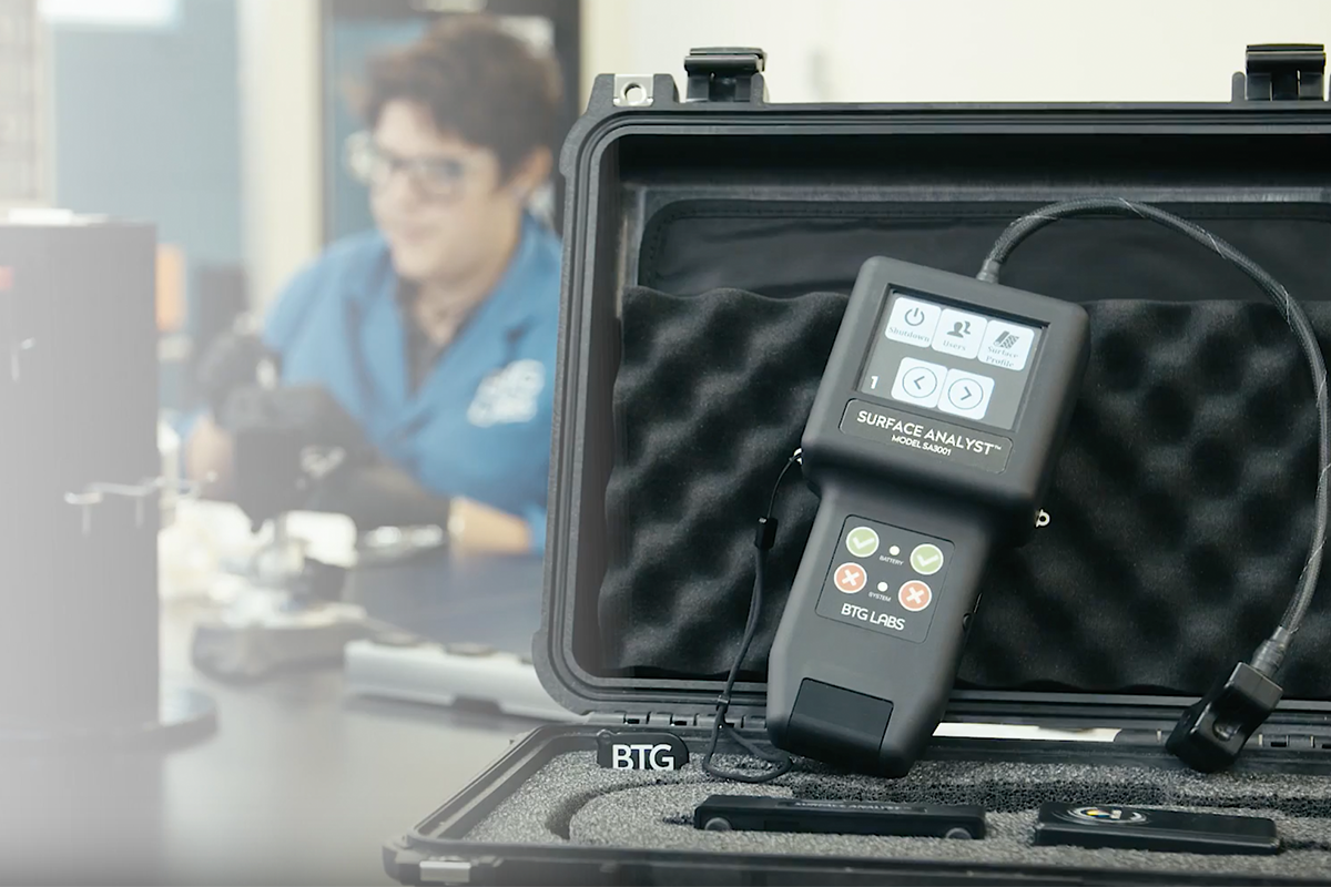 Gain Total Surface Quality Control with the Surface Analyst