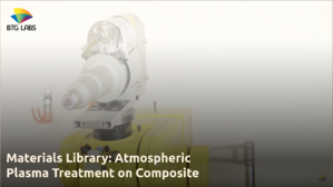 Materials Library- Atmospheric Plasma Treatment on Composite 2